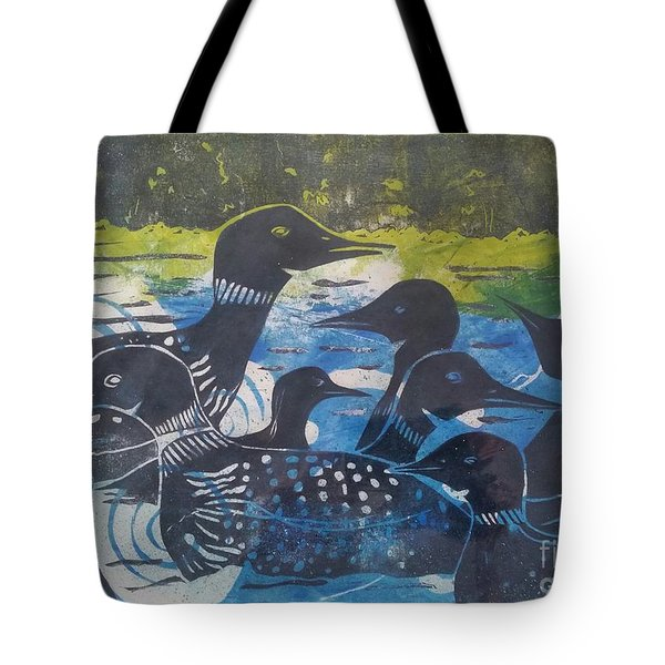 Loon, I See Tote Bag