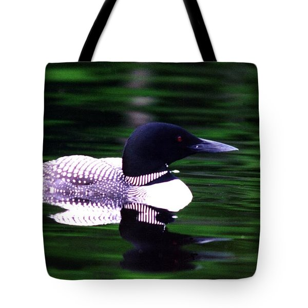 Loon On The Lake Tote Bag by Rick Frost