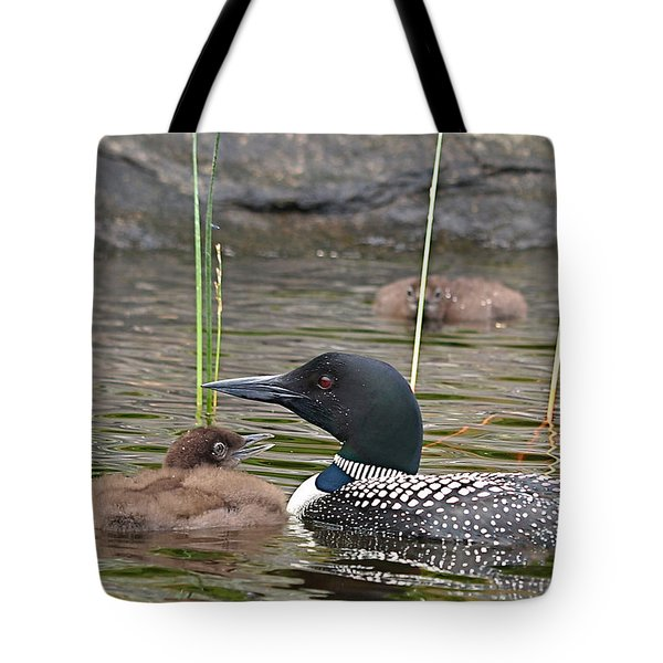 Loon Time Tote Bag
