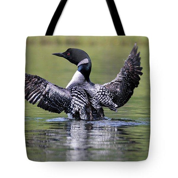 Loon Wingspan Tote Bag