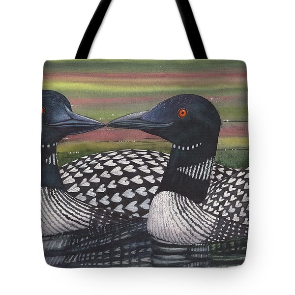 Looney About Each Other Tote Bag