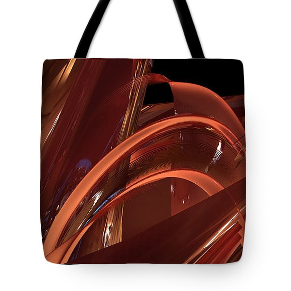 Tote Bag featuring the digital art Loopy by Steven Lebron Langston
