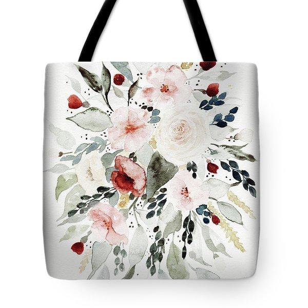 Loose Florals Tote Bag
