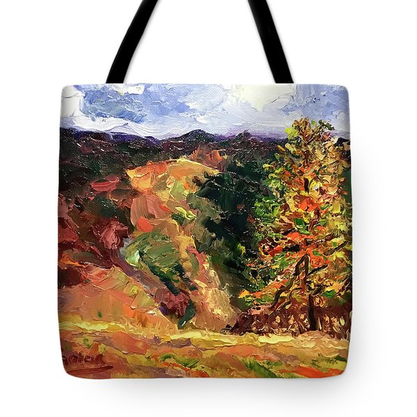 Loose Landscape Tote Bag