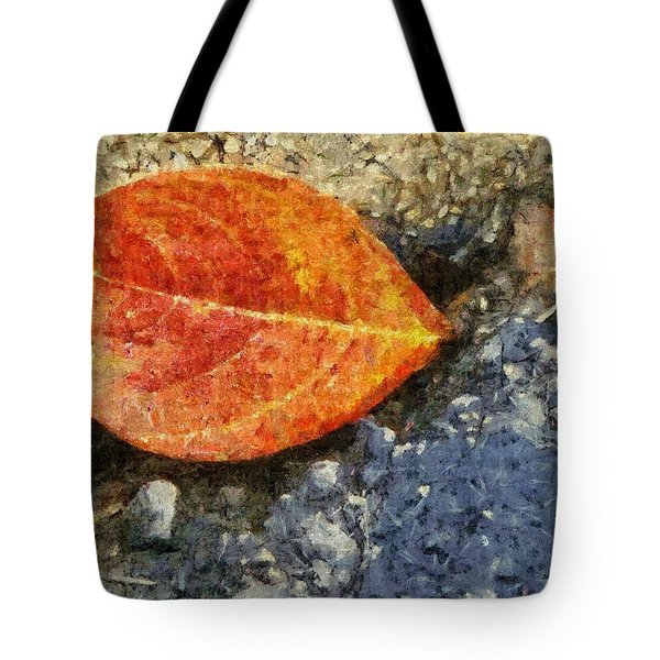 Loose Leaf Tote Bag