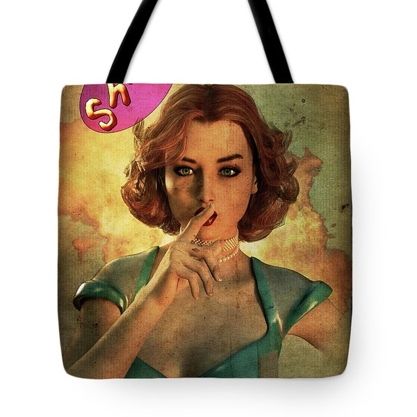 Loose Talk Tote Bag