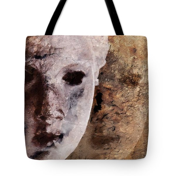 Loosing The Real You Behind The Mask Tote Bag