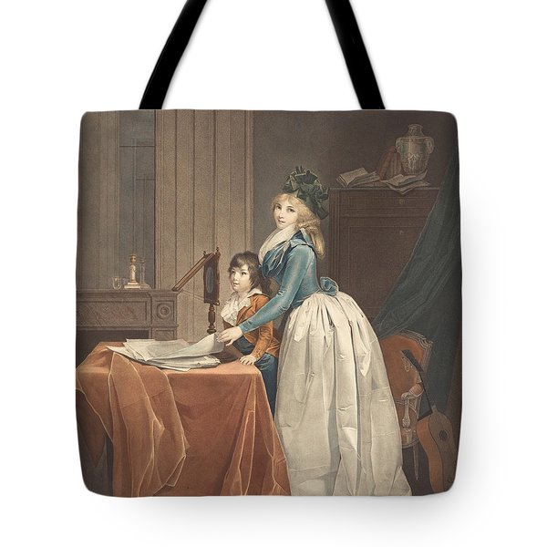L'optique (the Optical Viewer) Tote Bag