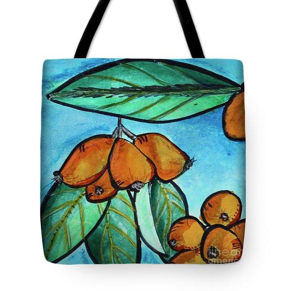 Loquats I Tote Bag