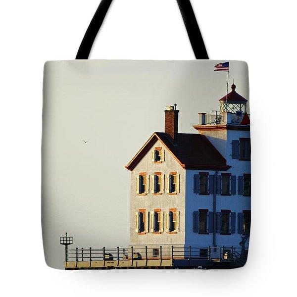 Lorain Lighthouse 2015 Tote Bag
