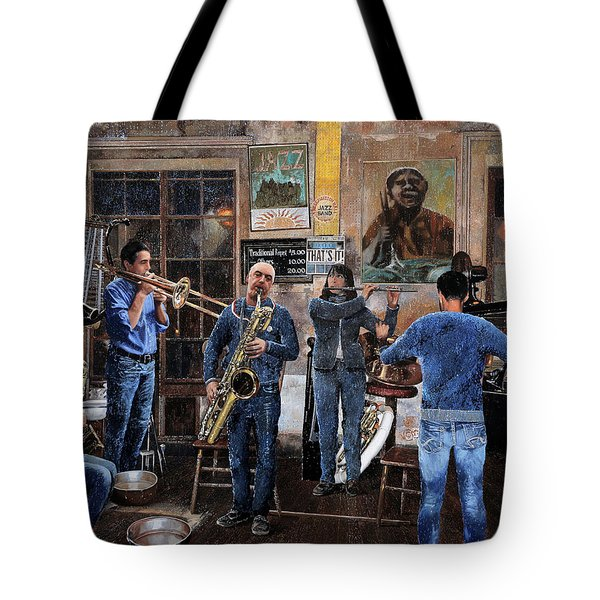 L'orchestra Tote Bag