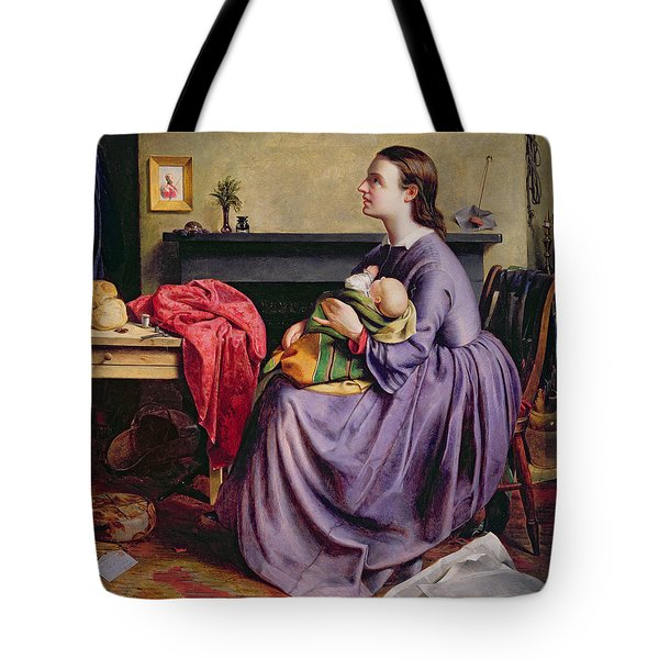 Lord - Thy Will Be Done Tote Bag by Philip Hermogenes Calderon