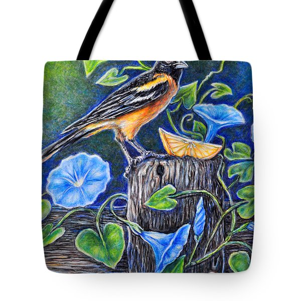 Lord Baltimore's Breakfast Tote Bag by Gail Butler