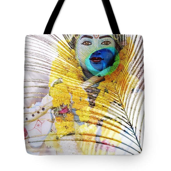 Lord Krishna Tote Bag