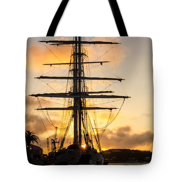 Lord Nelson Sunrise Tote Bag by Jeff at JSJ Photography