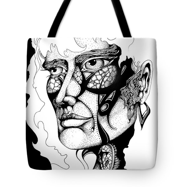 Lord Of The Flies Study Tote Bag by Curtiss Shaffer