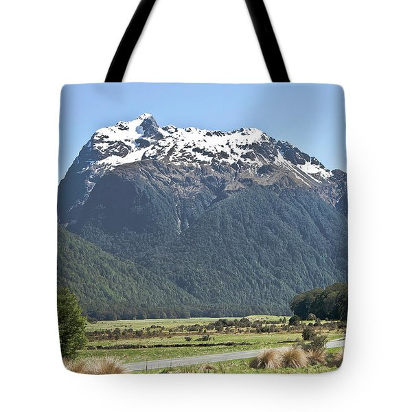 Lord Of The Rings Locations, New Zealand Tote Bag