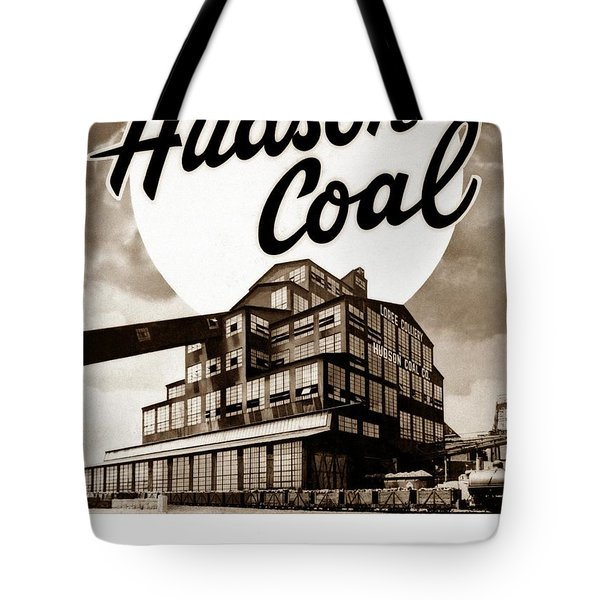 Loree Colliery Larksville Pa. Hudson Coal Co  Tote Bag