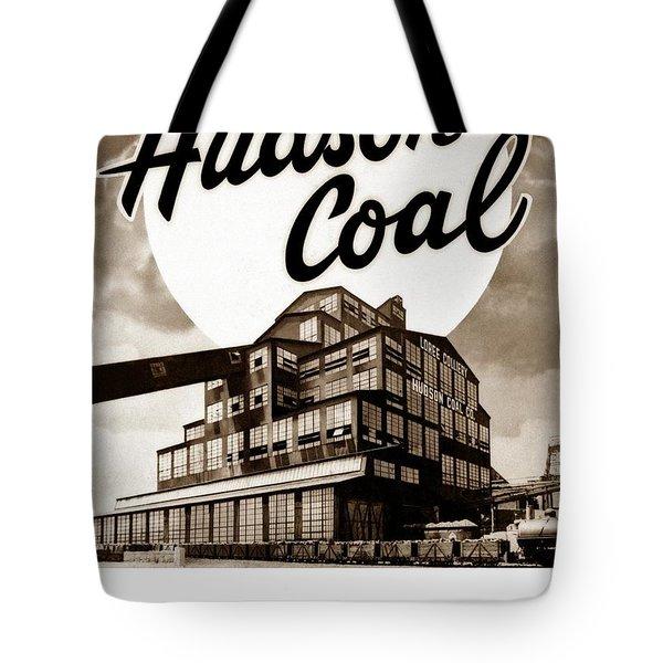 Loree Colliery Larksville Pa. Hudson Coal Co  Tote Bag