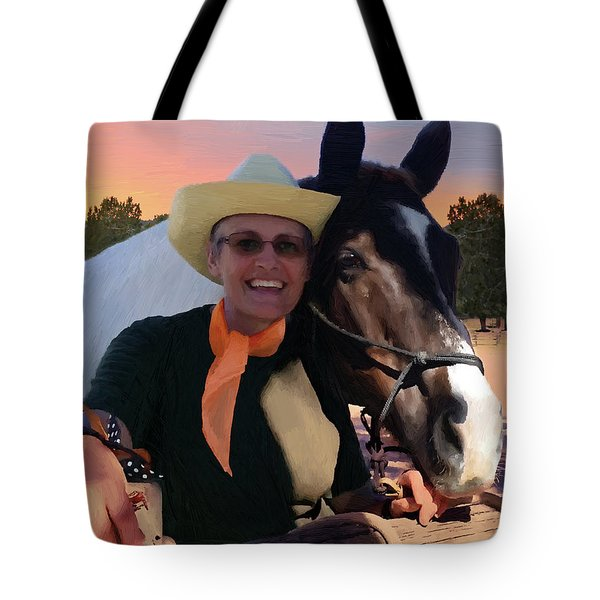 Lori And Paco Tote Bag by Doug Kreuger