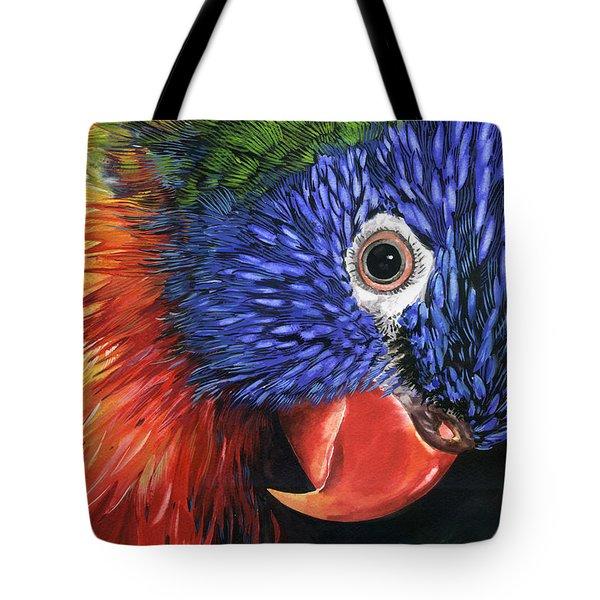 Lorikeet Tote Bag by Nadi Spencer