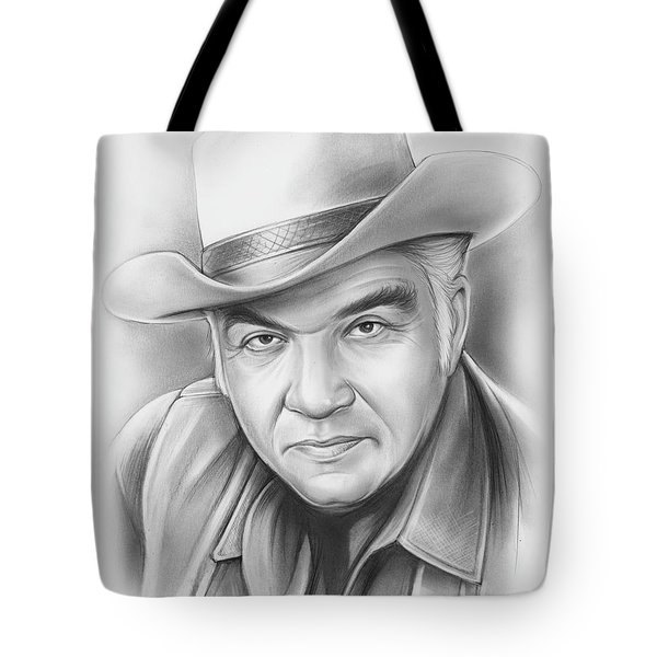 Lorne Greene Tote Bag