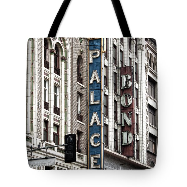 Los Angeles Downtown On Broadway Tote Bag