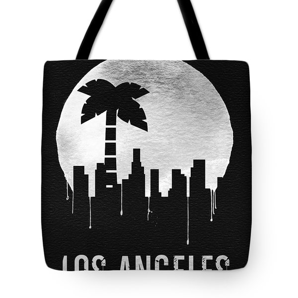 Los Angeles Landmark Black Tote Bag