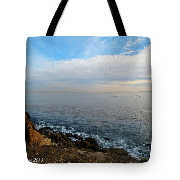 Tote Bag featuring the photograph Los Angeles Sunset by Joan  Minchak