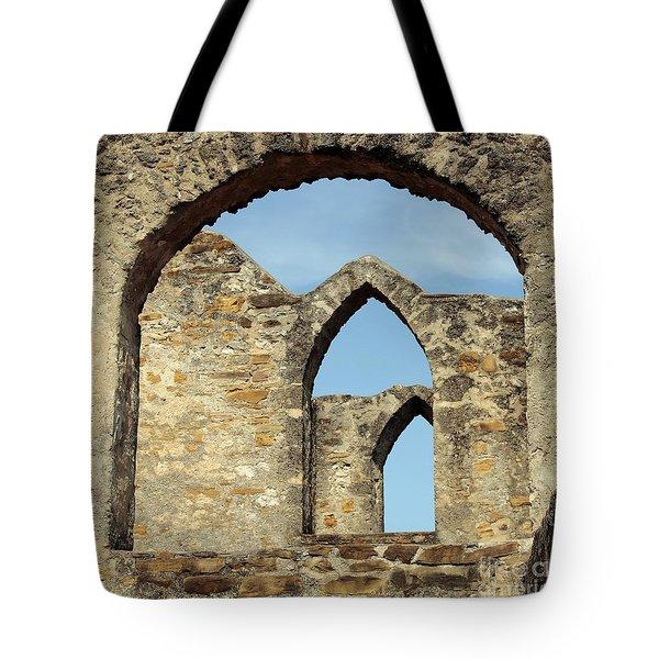 Los Arcos De La Mision San Jose Tote Bag by Joe Jake Pratt