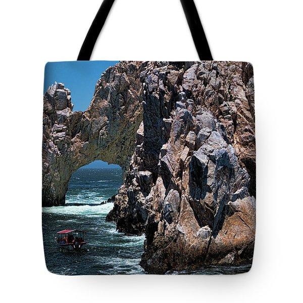 Los Arcos In Baja California Mexico Tote Bag