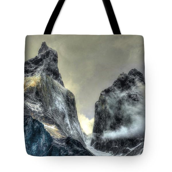 Los Cuernos-the Horns Tote Bag