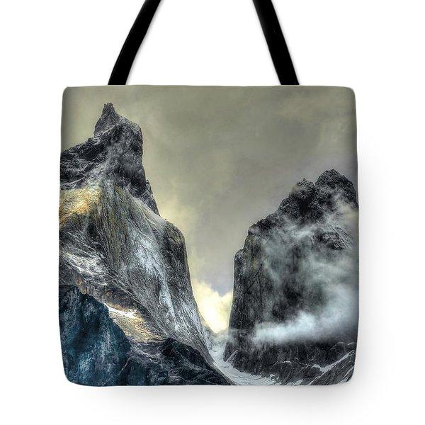 Los Cuernos-the Horns Tote Bag