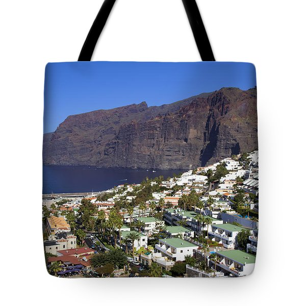 Los Gigantes In Tenerife Tote Bag