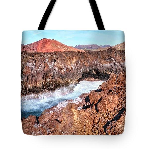 Los Hervideros - Lanzarote Tote Bag