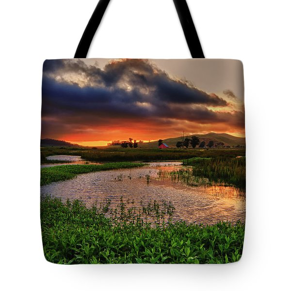Los Osos Valley Tote Bag