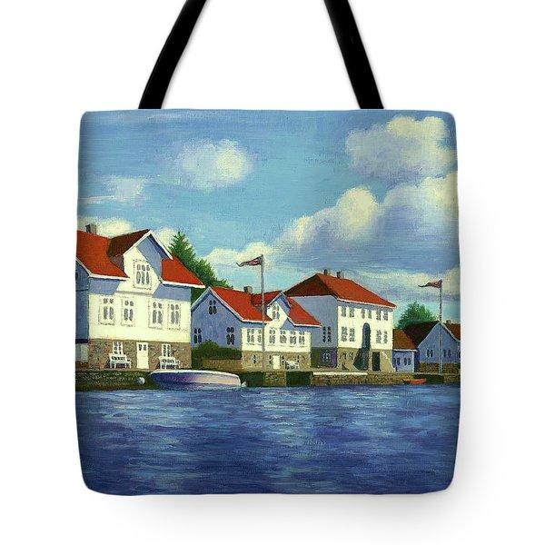 Loshavn Village Norway Tote Bag