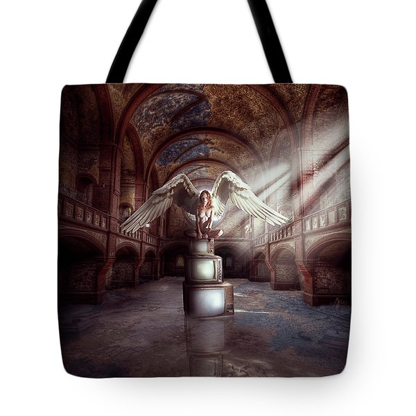 Losing My Religion Tote Bag by Nathan Wright