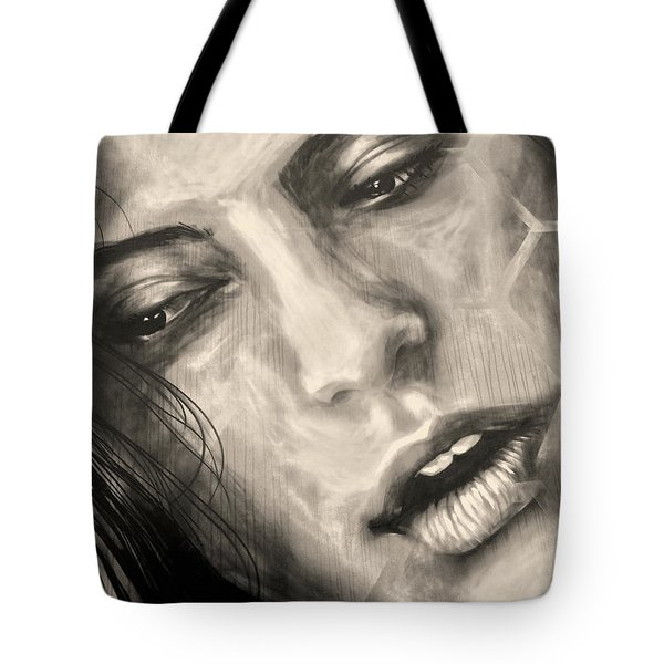 Tote Bag featuring the photograph Losing Sleep ... by Juergen Weiss