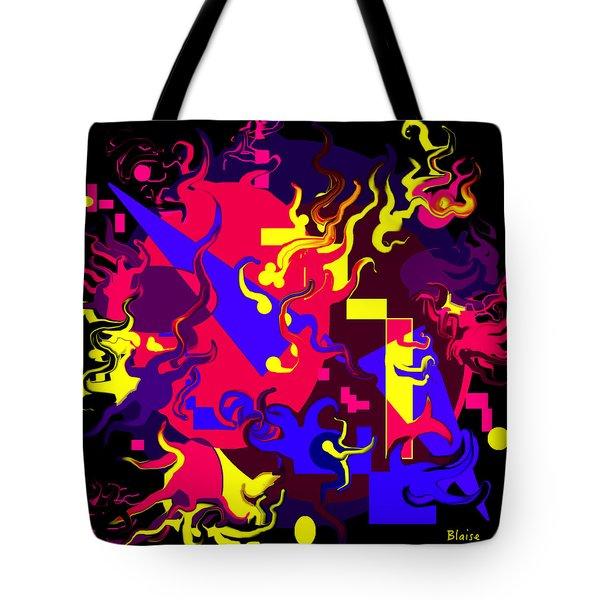 Loss Of Equilibrium Tote Bag