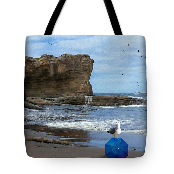 Tote Bag featuring the photograph Lost And Found by Diane Schuster