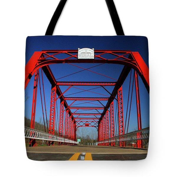 Lost Bridge Tote Bag