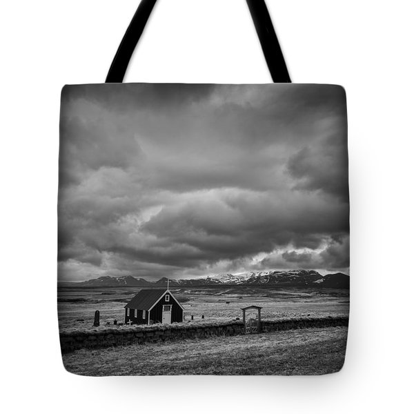 Lost Church Tote Bag by Dominique Dubied