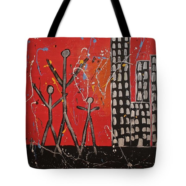 Lost Cities 13-001 Tote Bag by Mario Perron