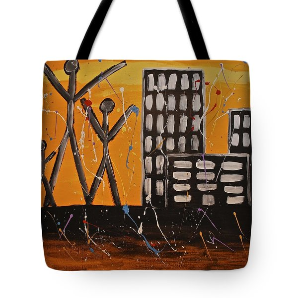 Lost Cities 13-002 Tote Bag by Mario Perron