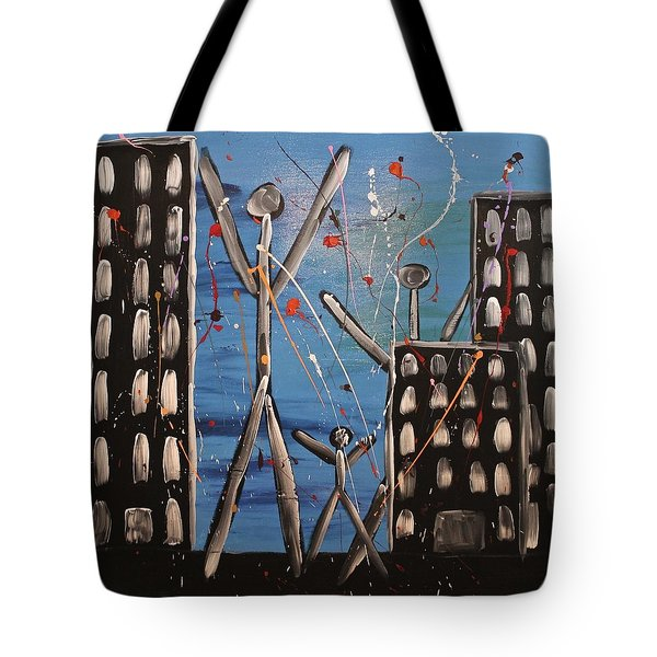 Lost Cities 13-003 Tote Bag by Mario Perron