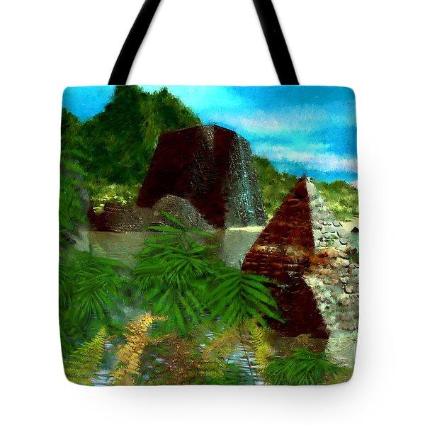 Lost City Tote Bag by David Lane