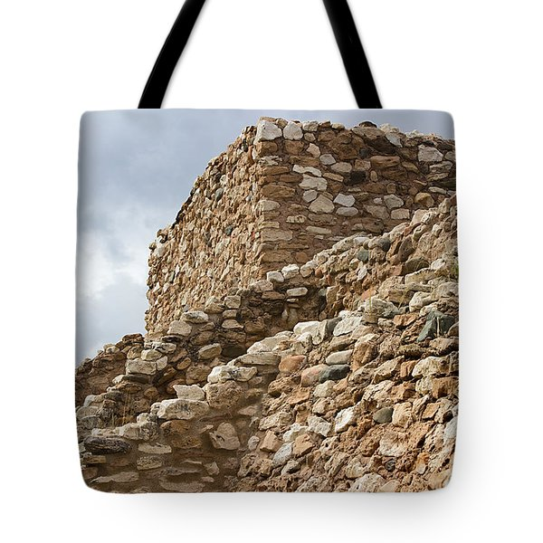 Tote Bag featuring the photograph Lost Civilization by Phyllis Denton