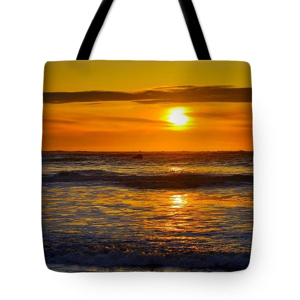 Lost Coast Sunset Tote Bag