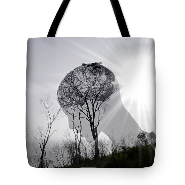 Lost Connection With Nature Tote Bag